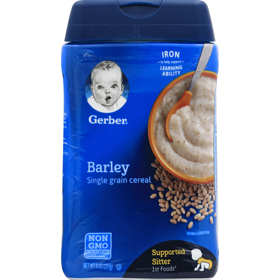 Gerber Single Grain Cereal, Barley