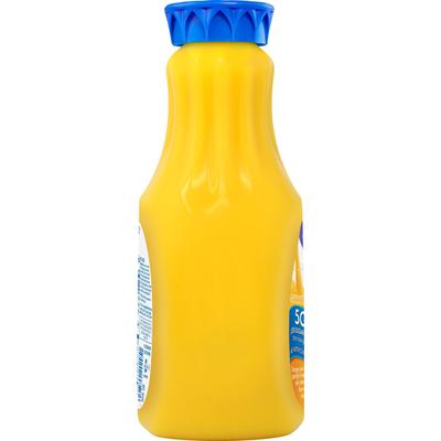 Tropicana Juice Beverage, Orange, No Pulp, Vitamin & Zinc