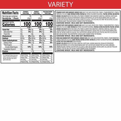 Kellogg's Special K Pastry Crisps, Breakfast Bars, Variety Pack