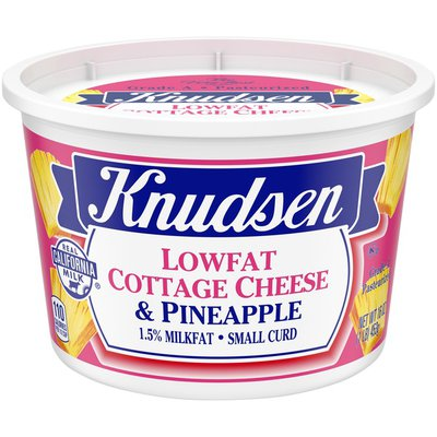 Knudsen Low Fat Cottage Cheese & Pineapple