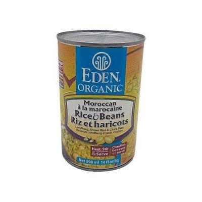 Eden Foods Moroccan Rice & Garbanzos