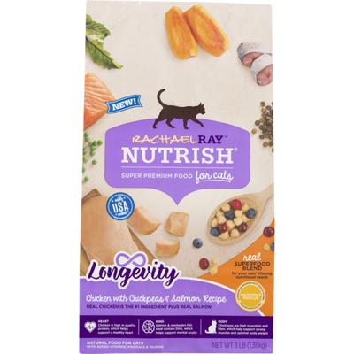 Rachael Ray Nutrish Natural Food For Cats Longevity