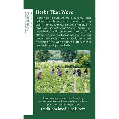 Traditional Medicinals Organic Spearmint, Caffeine Free Herbal Tea