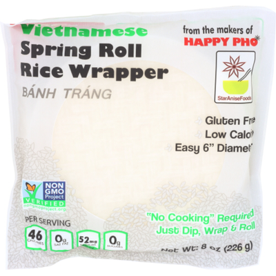 Star Anise Foods Rice Wrapper, Spring Roll, Vietnamese
