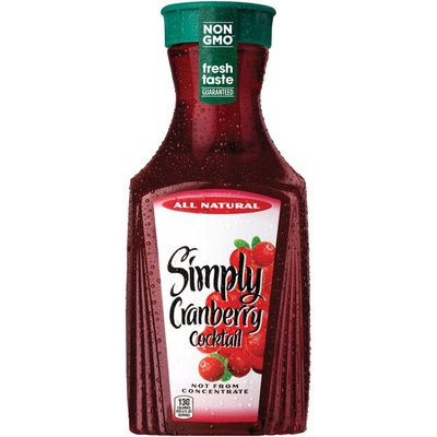 Simply Cranberry Cocktail Bottle