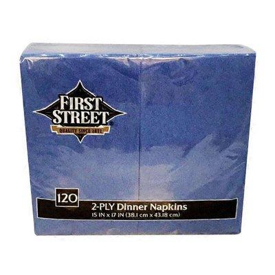 First Street Artstyle True Blue Napkin 2 Ply