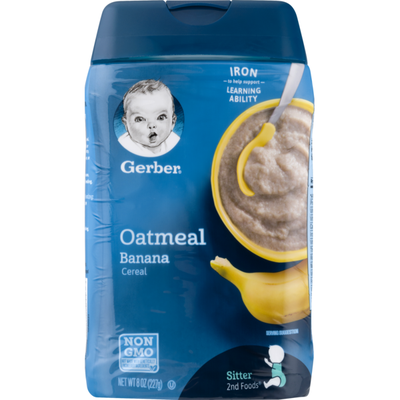 Gerber Cereal Oatmeal Banana