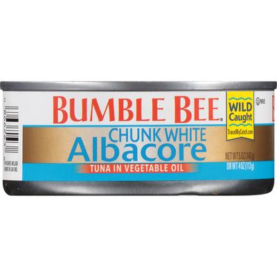 Bumble Bee Chunk White Albacore Tuna in Vegetable Oil