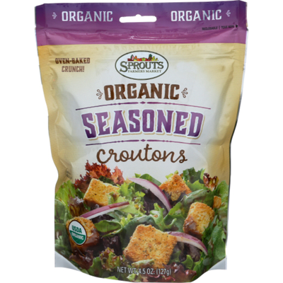 Sprouts Organic Seasoned Croutons