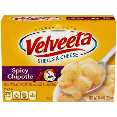 VELVEETA Bold Chipotle Shells & Cheese