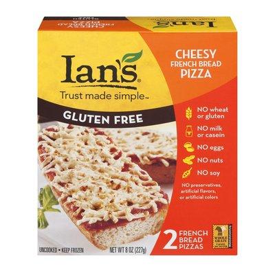 Ian's Gluten Free Cheesy French Bread Pizza - 2 CT