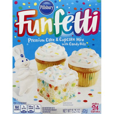 Pillsbury Funfetti Premium Cake Mix With Candy Bits
