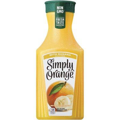 Simply Orange Juice With Banana