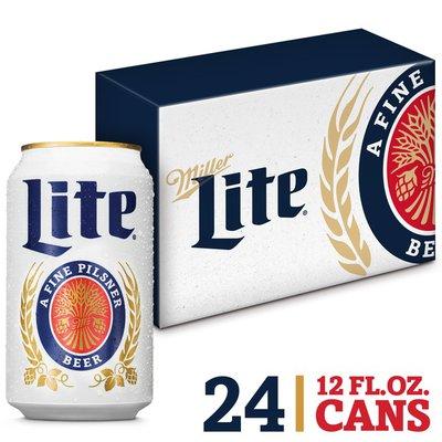 Miller Lite Lager Beer, Light Beer