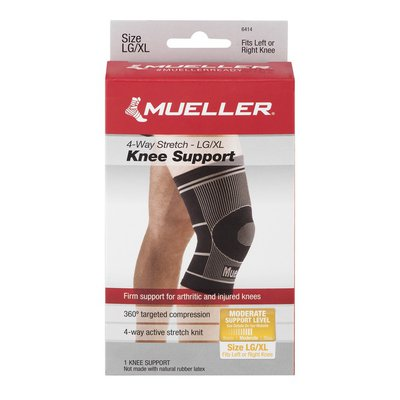 Mueller Knee Support 4-Way Stretch - LG/XL