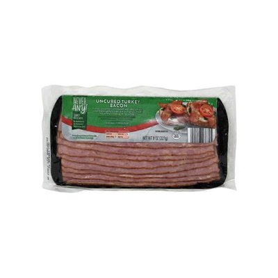 Never Any! Uncured Turkey Bacon