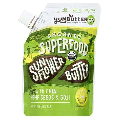 Yum Butter Sunflower Butter, Organic