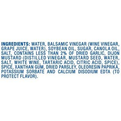 Kraft Balsamic Vinaigrette Salad Dressing