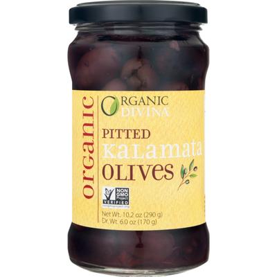 Organic Divina Pitted Kalamata Olives