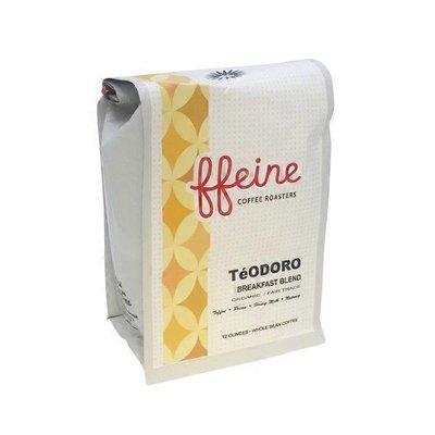 Ffeine Coffee Roasters Teodoro Organic Whole Bean Coffee