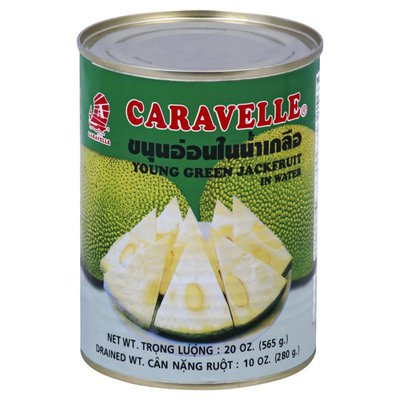Caravelle Jackfruit, in Water, Young Green