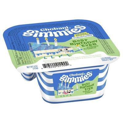 Chobani Gimmies Best Birthday Ever Yogurt Crunch