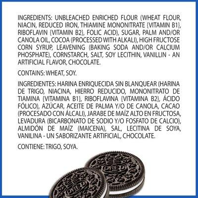 Oreo Chocolate Sandwich Cookies, Original Flavor, 1 Resealable Pack
