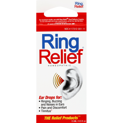 The Relief Products Ear Drops, Homeopathic