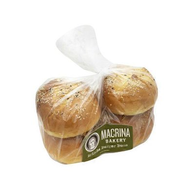 Macrina Bakery Brioche Burger Buns