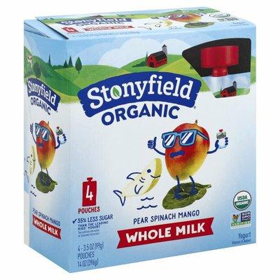 Stonyfield® Organic Pear Spinach Mango Whole Milk Yogurt