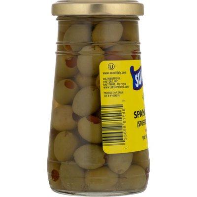 Sun Of Italy Spanish Olives, Jar