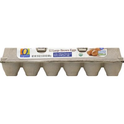 O Organics Eggs, Brown, Large
