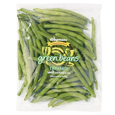 Wegmans Food You Feel Good About Cleaned and Cut Trimmed Green Beans