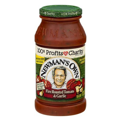 Newman's Own Pasta Sauce Fire Roasted Tomato & Garlic