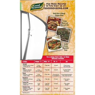 Good Seasons Italian Dressing & Recipe Seasoning Mix with Free Cruet Kit