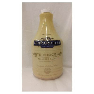Ghirardelli Case Of Classic White Chocolate Sauce