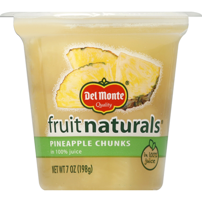 Del Monte Quality Fruit Naturals Pineapple Chunks in Juice