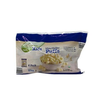 Simply Nature Organic White Cheddar Puff Snack Packs