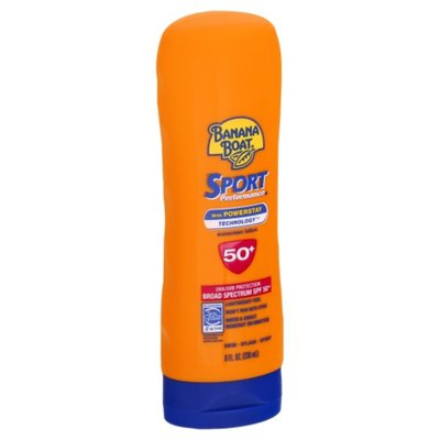 Banana Boat Sunscreen Lotion, with Powerstay Technology, Broad Spectrum SPF 50+