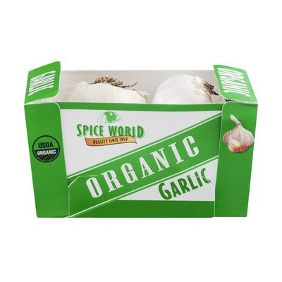 Spice World Organic Jumbo Garlic Knots - 2 CT