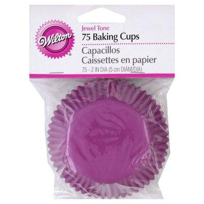 Wilton Jewel Tone Cupcake Liners, 75-Count