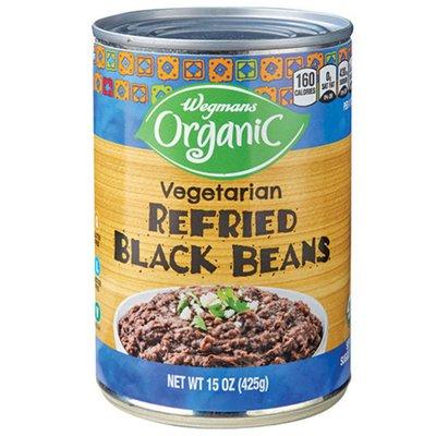 Wegmans Organic Vegetarian Refried Black Beans