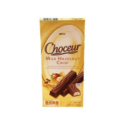 Choceur Milk Hazelnut Crisp Filled Mini Chocolate Bars
