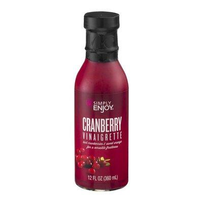 Simply Enjoy Vinaigrette Cranberry