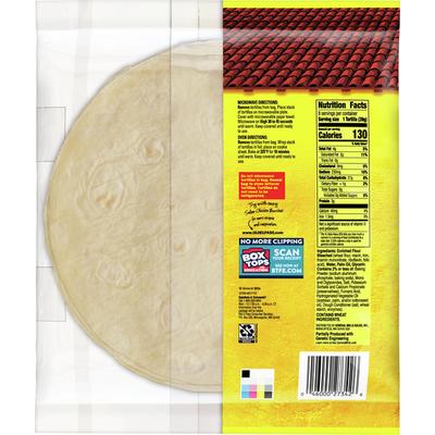 Old El Paso Flour Tortillas for Burritos