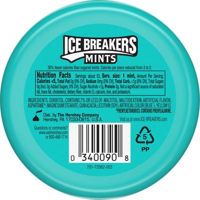 Ice Breakers Mints, Sugar Free, Wintergreen