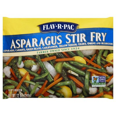 Flav R Pac Asparagus Stir Fry
