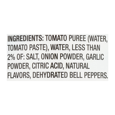 Food Lion Tomato Sauce