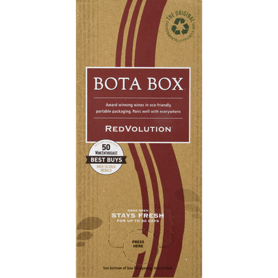 Bota Box Red Wine Blend, RedVolution