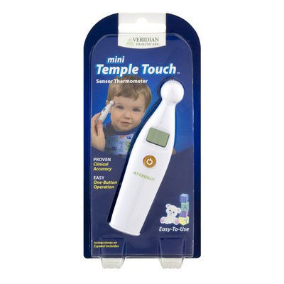 Veridian Healthcare Mini Temple Touch Sensor Thermometer